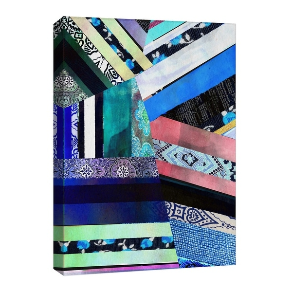 """PTM Images 9-126769 PTM Canvas Collection 8"""" x 10"""" - """"Technicolor"""" Giclee Abstract Art Print on Canvas"""