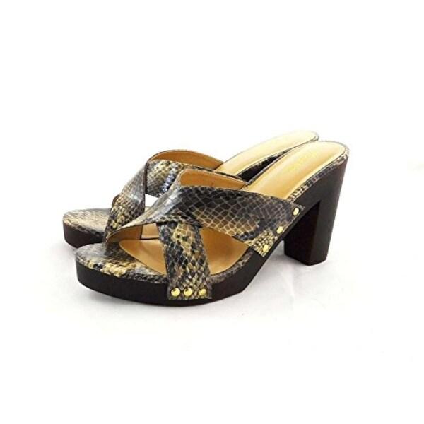 Thalia Sodi Womens IVANNA Fabric Open Toe Casual Platform Sandals