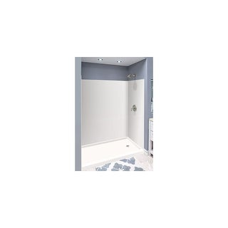 "Transolid Expressions 32-in X 60-in X 72-in Glue to Wall Shower/Walls - 60"" x 32"" x 72"""