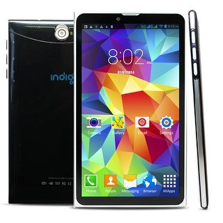 """Indigi® 7"""" Android 4.4 KitKat 3G Factory Unlocked 2-in-1 DualSIM SmartPhone + TabletPC w/ WiFi & Bluetooth Sync"""