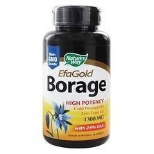 Nature's Way - Borage Oil / 1300 mg - 60 ct Softgel