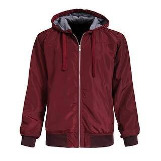 NE PEOPLE Mens Casaul Lightweight Windbreaker Hoodie Zip Up [NEMJ101]