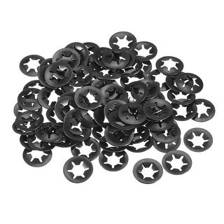Starlock Washers , M8x18  Internal Tooth Clips Fasteners Kit , Pack of 100
