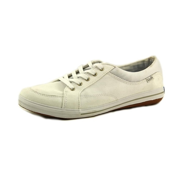 Keds Vollie Women  Round Toe Canvas White Sneakers