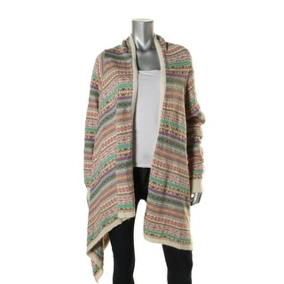 Lauren Ralph Lauren Womens Pattern Asymmetric Cardigan Sweater - o/s