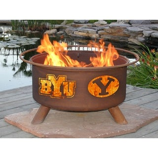 Patina Products F400 Brigham Young University Fire Pit - bronze