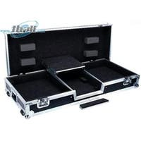 DeeJay LED Fly Drive Battle Case with Laptop Shelf for Two