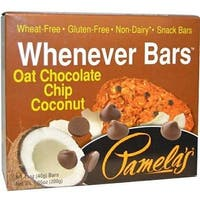 Pamela's Products - Oat Chocolate Chip Coconut Bars ( 30 - 1.41OZ)