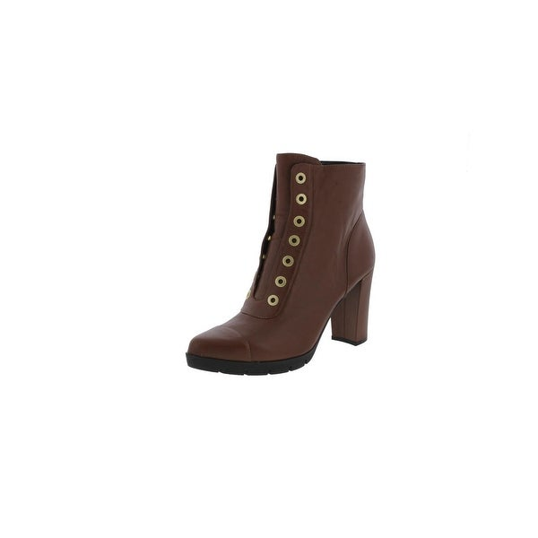William Rast Womens Carly Casual Boots Pointed Toe Grommet - 9.5 Medium (B,M)