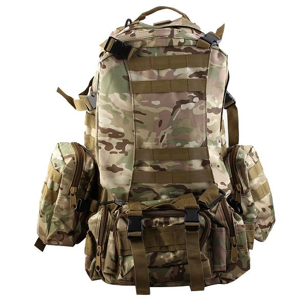 Outdoor Trekking Camping Hiking Backpack Large Capacity Bag CP Camouflage Color