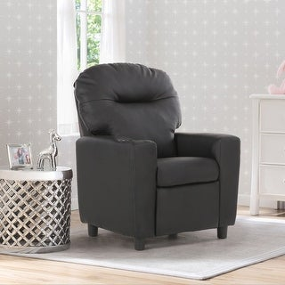 Costway Kids Sofa Recliner Armrest Couch Children Living Room Furniture w Cup Holder