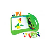 The Learning Journey 159712 Magnetic Make A Shape Board