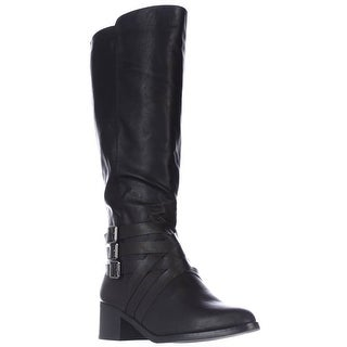 MIA Noralee Knee-High Riding Boots, Black