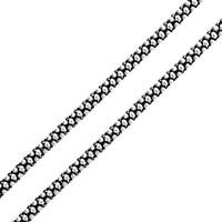 Bling Jewelry 3mm Bali Style Popcorn Coreana Chain Sterling Silver Necklace