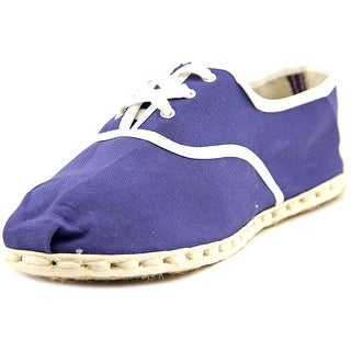 Industry of All Nations Sport Espadrille Men Round Toe Canvas Blue Espadrille