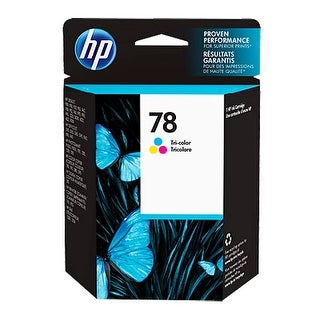 HP 78 Tri-Color Ink Cartridge HP 78 Tri-Color Ink Cartridge - Cyan, Magenta, Yellow - Inkjet - 560 Page