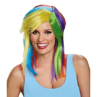 Rainbow Dash Adult Costume Costume Wig - Blue