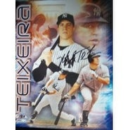 Signed Teixeira Mark New York Yankees 11x14 Photo autographed