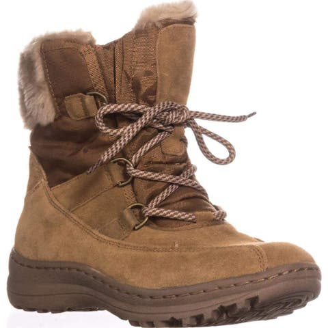Bare Traps Womens aero Closed Toe Ankle Cold Weather Boots