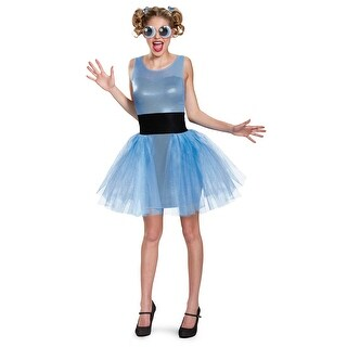 Women's Powerpuff Girls Bubbles Deluxe Costume (4 options available)