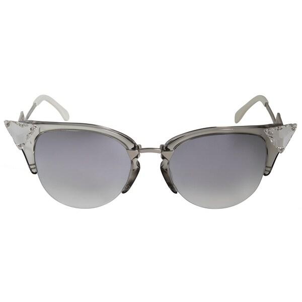 1e9db317016 Shop Fendi Iridia Cat Eye Sunglasses FF0041S 27C FU 52 - On Sale ...