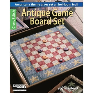 Leisure Arts-Antique Game Board Set
