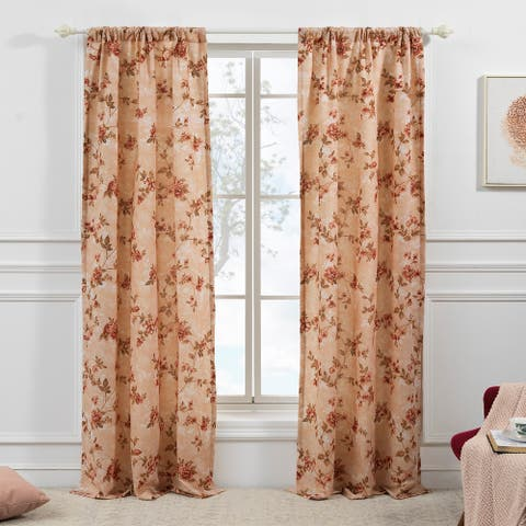 Greenland Home Fashions Briar 4-Piece Curtain Panel Set