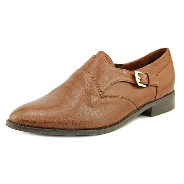 Nine West 7Feneley Round Toe Leather Loafer