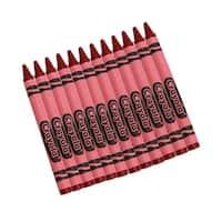 (12 Bx) Crayola Bulk Crayons 12Ct Per Bx Red