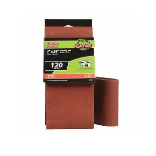 "Gator 3190 Resin Sanding Belt, 4"" x 36"", 120 Grit"