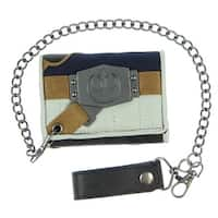Star Wars Star Wars Han Solo Chain Wallet , Gray , One Size - One Size Fits most