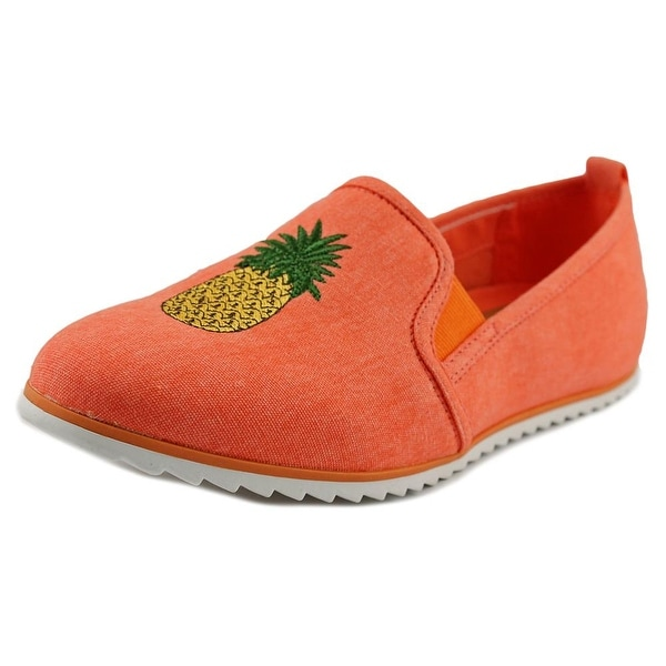 Bar III Opal Women Round Toe Canvas Loafer