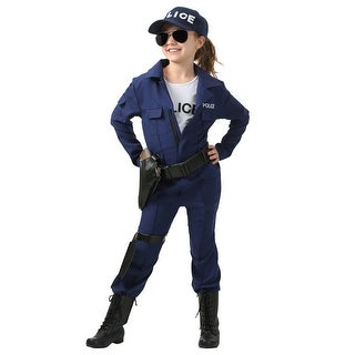 Girl's Tactical Cop Jumpsuit (4 options available)