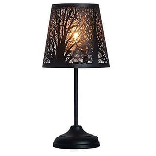Rustic table lamps for less overstock kanstar 15 forest table lamp aloadofball