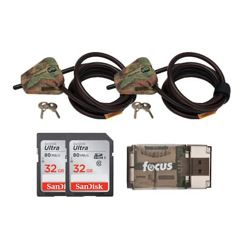 Master Lock Python Locking Cable with Two Memory Cards & Reader Bundle