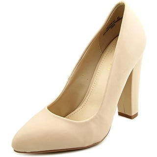 Bamboo Netty-01 Women Pointed Toe Synthetic Heels