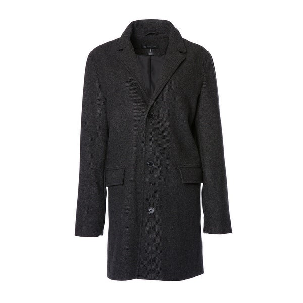 Womens Single Breasted City Coat