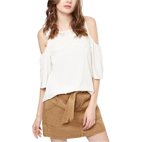 Sanctuary Clothing Womens Pullover Off The Shoulder Blouse