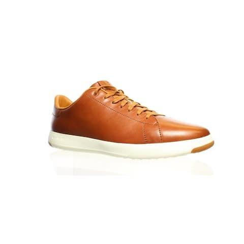 Cole Haan Mens Grandpro Tennis Brown Fashion Sneaker Size 12