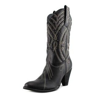 Very Volatile Zala Black Western Boots