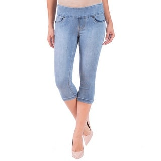 Lola Jeans Michelle-MLB, Mid Rise Pull On Capri With 4-Way Stretch
