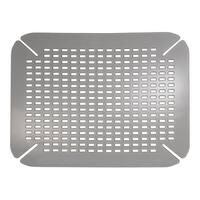 """InterDesign 59063 Graphite Contour Sink Saver, 14"""" x 16"""""""