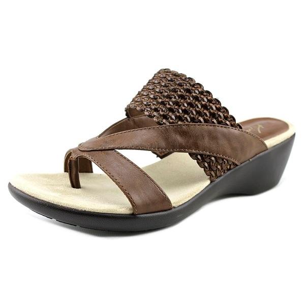 Kim Rogers Patta Women Open Toe Synthetic Wedge Sandal