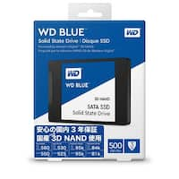 "WD Blue 3D NAND 500GB PC SSD - SATA III 6 Gb/s 2.5""/7mm Solid State Drive - WDS500G2B0A"