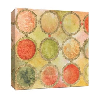 "PTM Images 9-147122  PTM Canvas Collection 12"" x 12"" - ""Circle Mosaic"" Giclee Patterns and Designs Art Print on Canvas"
