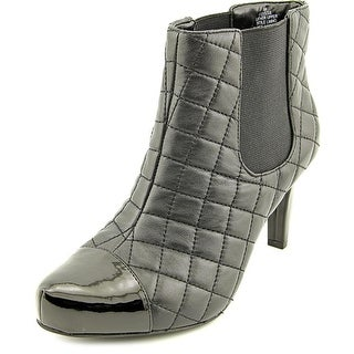 Easy Spirit Delsie Round Toe Leather Ankle Boot