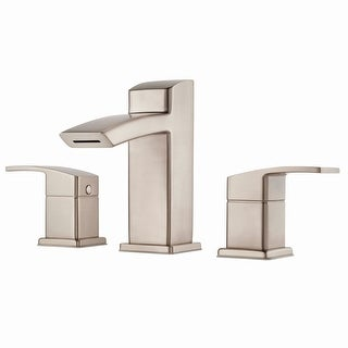 Pfister LG49-DF2  Kenzo Widespread Bathroom Faucet with Metal Pop-Up Assembly