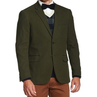 Nautica Performs Admiral's Lounger Green 2-Button Sportcoat Blazer 40 Long 40L