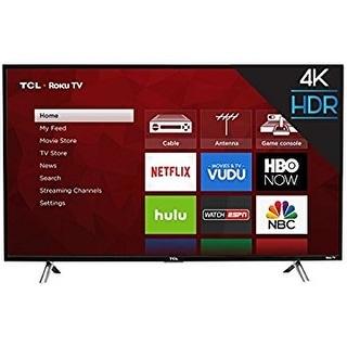TCL 43UP130 43-Inch 4K Ultra HD Roku Smart LED TV  (Refurbished)