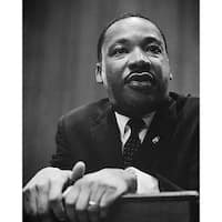 ''Martin Luther King Jr., Washington DC, 1964'' by McMahan Photo Archive African American Art Print (10 x 8 in.)
